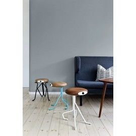 Retro stools from the Compatriot collection can be used as an extra chair, as well as a piece of funky art chairs. The name compatriot refers to the touching function of the stool as it adds an extra dimension to any home interior room.