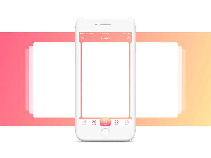 Pregnancy Diary App (part 1) by Taras Demidyuk #pregnancyapps,