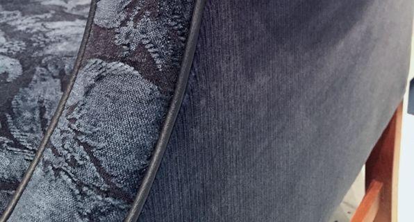 Denim looks.  Beautiful upholstery fabrics.