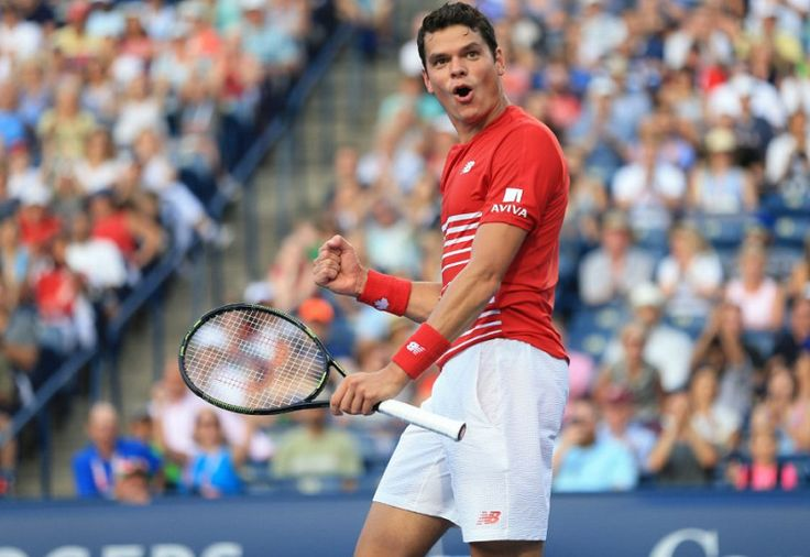 Canadian tennis // Rogers Cup 2017 : Canadians in the singles and doubles main draws // Picture : Milos Raonic (Copyright Rene Johnston/Toronto Star)