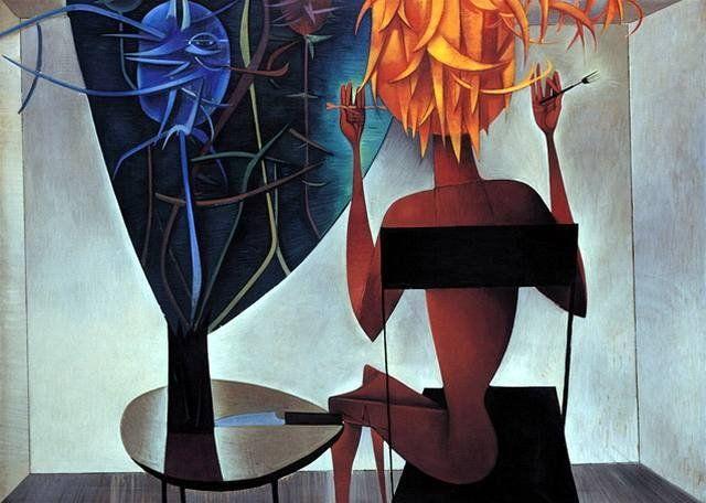 Mikuláš Medek, Umění jísti strom / Žena s bodlákem