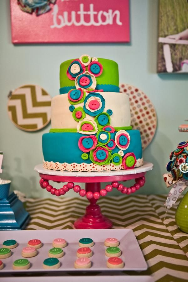 Knitting Party Theme : Best quilt sewing knitting themed cakes images