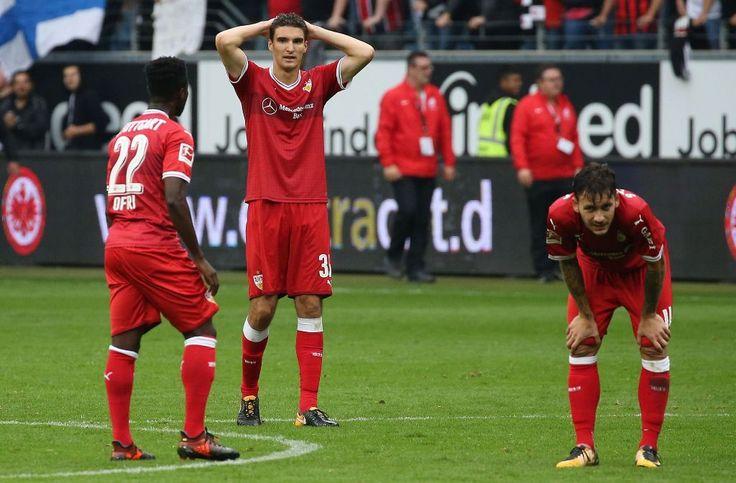 Der VfB Stuttgart hat in Überzahl bei Eintracht Frankfurt mit 1:2 verloren. Wir haben die Stimmen zum Spiel gesammelt.