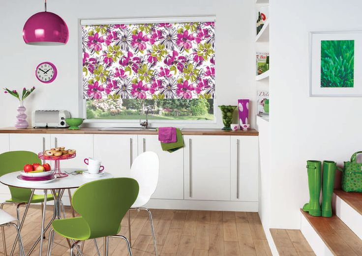 Embrace the Tropicana interiors trend this Spring with Solar Sunshades beautiful selection of blinds patterns, fabrics and styles at www.soalrsunshades.co.uk/blinds #interiors #inspiration #spring #tropicana #tropical #blinds #patterns #home #kitchen #UK