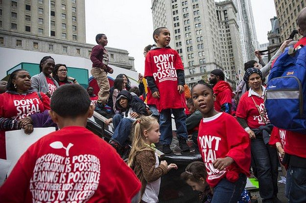 9,000 students at Success Academies will be bused to a rally in Albany calling for the limit on new charter schools to be lifted. It's on the same day as the teachers' union lobbying day