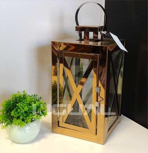 lanterna marroquina decorativa cobre - decoração