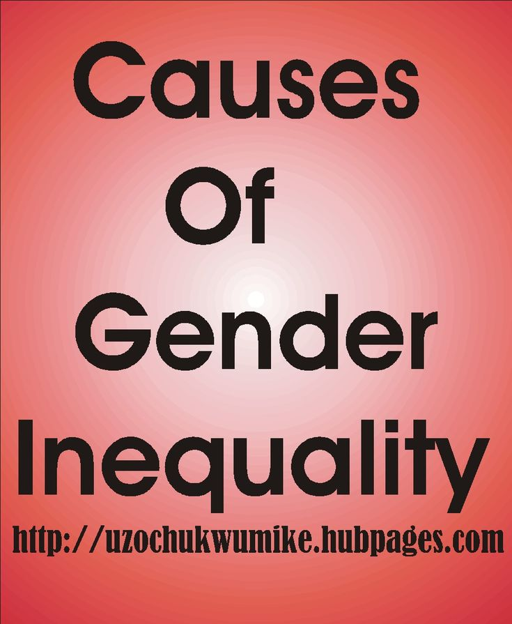 patriarchy as cause of gender inequality Kimmel also challenges the pop psychologists who suggest that gender  difference is the cause of inequality between the sexes instead, he reveals that  the.