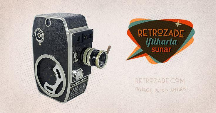 Paillard Bolex L8 8mm Film Kamerası