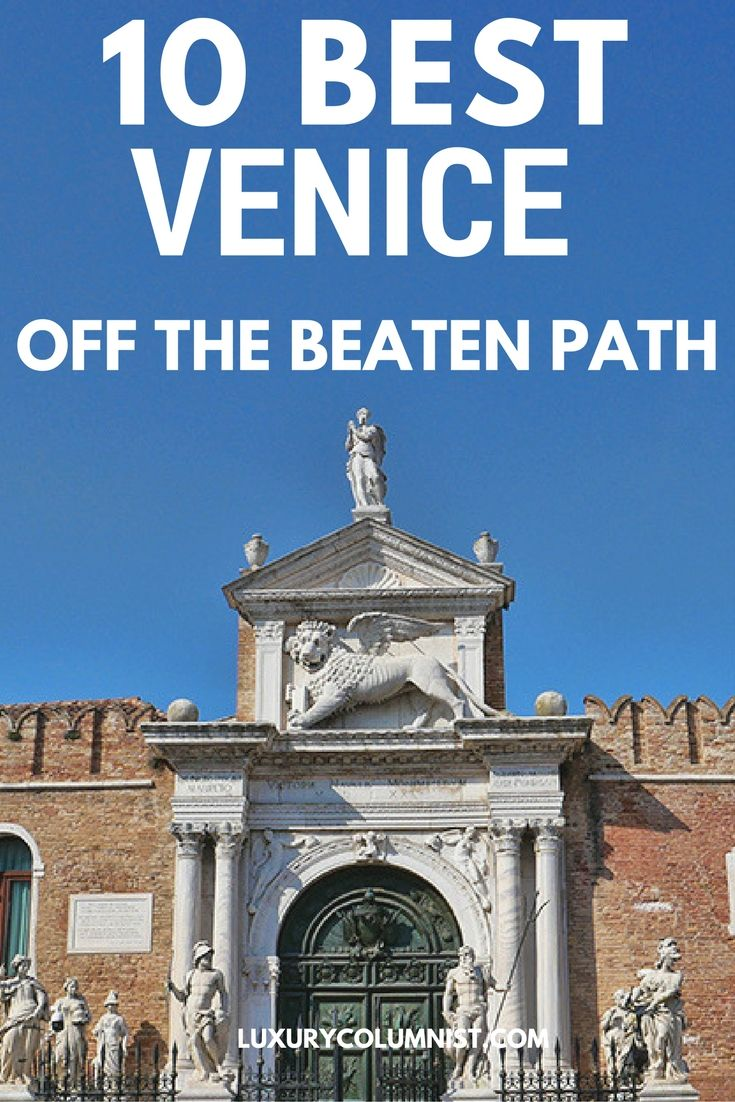Venice is famous for sights such as Saint Mark's Basilica. Yet there's more than meets the eye - we've rounded up 10 off the beaten path Venice attractions