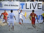 LND - Dipartimento Beach Soccer - EURO BEACH SOCCER LEAGUE: Frainetti in azione
