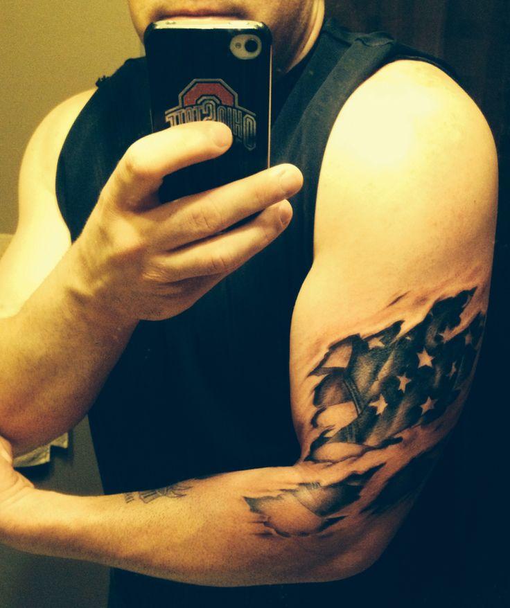 3d american flag tattoo tatt tatt tatt it up for American flag tattoos pictures