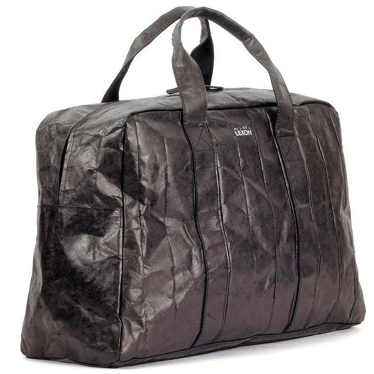 Bolsa de Viaje Lexon Air Tyvek® Negra http://www.tutunca.es/bolsa-viaje-lexon-air-tyvek-negra
