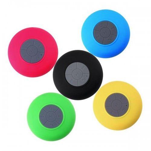 Portable Waterproof Wireless Bluetooth Speaker Shower Car Handsfree Receive Call & Music Suction Phone Mic