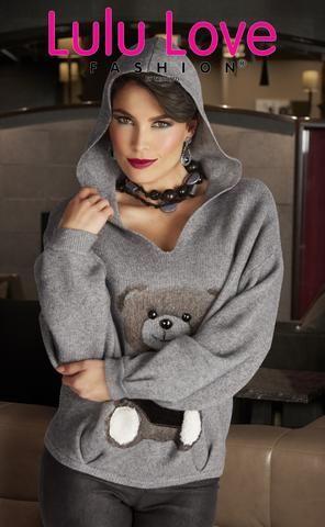L-600 (Teddy bear sweater only)