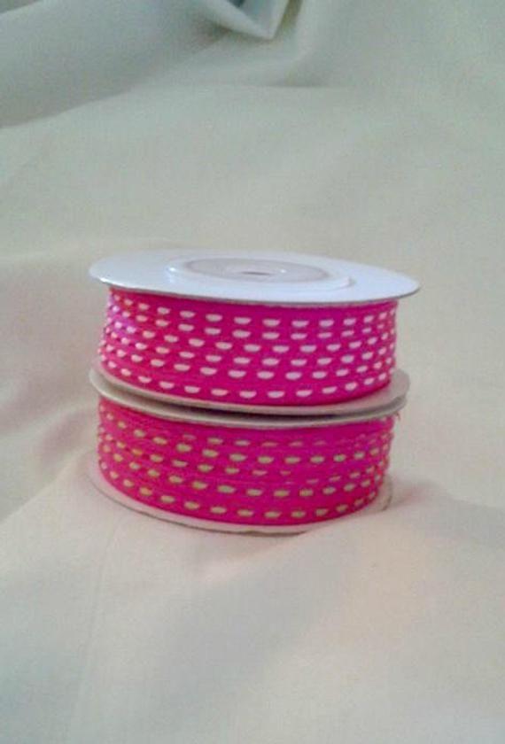 VALENTINE SPECIAL    2 Thin Ribbon Spools   1/8