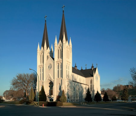 Medicine Hat, Canada.Well done God!  St.Patricks Church is a beautiful  sight.