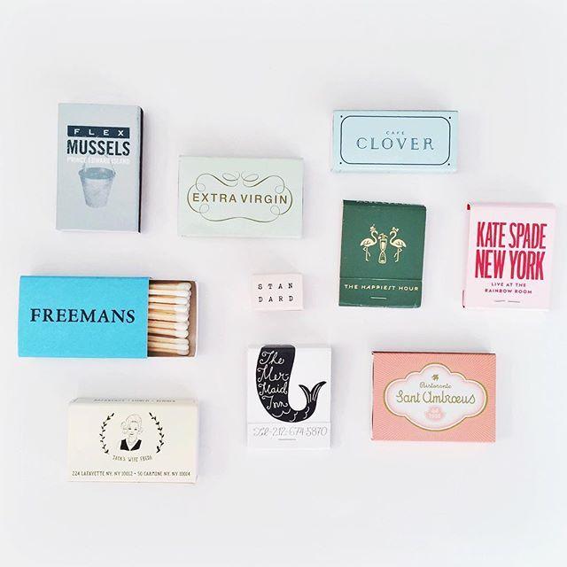 NYC matchbooks.