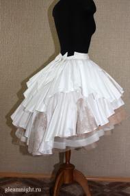 Свадебная юбка-пачка