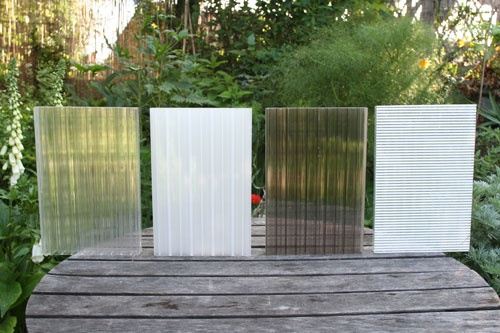 Samples Of Poly Carbonate Panels Pergola With Roof