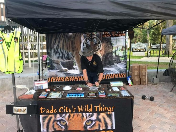 "Come check out our Display Disaster Expo at the Annual Cotee River Feast in Downtown New Port Richey's Sim's Park today from 10:00 - 3:00 Say hi to Randy ""The Tiger Man"" & Chuck."
