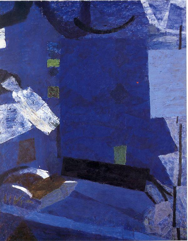 Piotr Potworowski Blue room