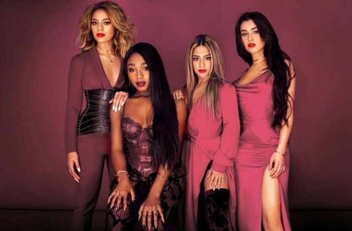Fifth Harmony iheart photoshoot in Pink