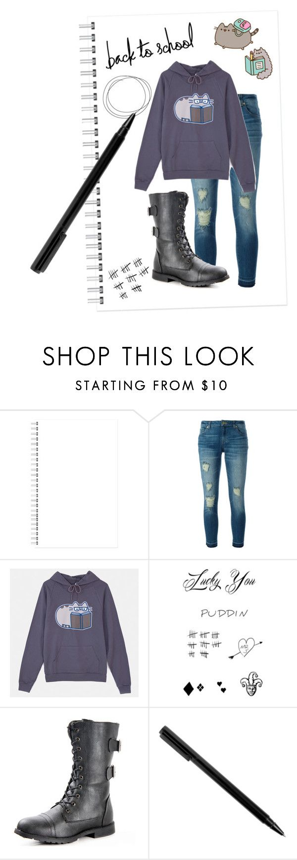 """""""#PVxPusheen"""" by multifandomgal ❤ liked on Polyvore featuring MICHAEL Michael Kors, Pusheen, contestentry and PVxPusheen"""