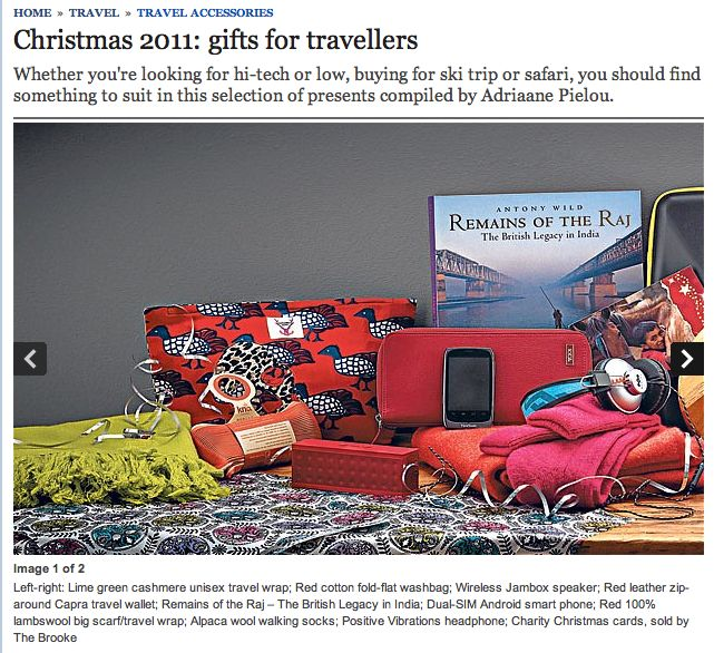 Telegraph Travel Feature