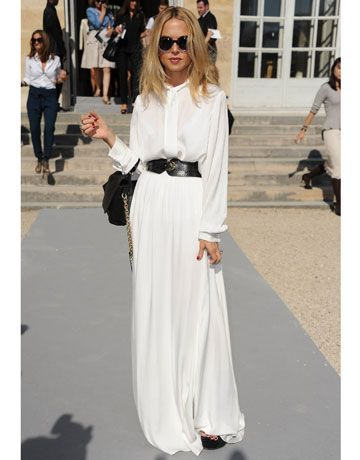 "Rachel Zoe rocking round sunglasses and a flowy maxi dress.  The ""Maj"" look    See More: http://nubry.com/2012/03/la-celebrity-style-session-at-the-waldorf-astoria/"