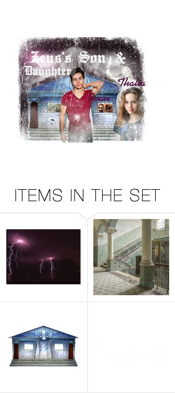 """""""Zeus's son & Daughter ~ Thalia & Rvan"""" by im-simply-2-mad ❤ liked on Polyvore featuring art"""