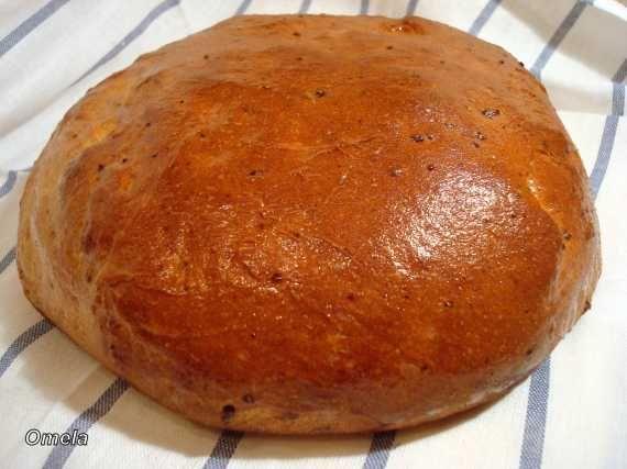 Картофельный хлеб на сметане (духовка)