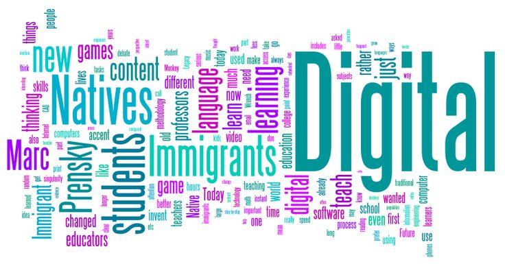 Dijital Doğanlar ve  Dijital Göçmenler