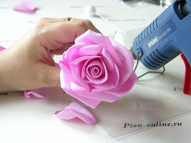 Фоамиран мастер класс по созданию венка из роз. Обсуждение на LiveInternet…