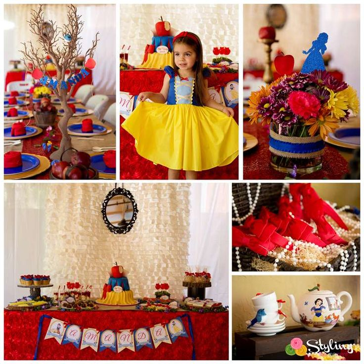 Snow White Birthday Party Ideas | Photo 1 of 43 | Catch My Party