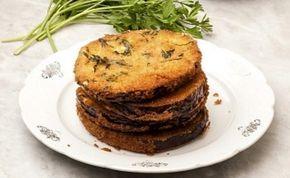 Milanesas de berenjena al horno super ricas | Recetas de Cocina faciles.