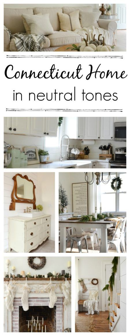 Connecticut Home in Neutral Tones