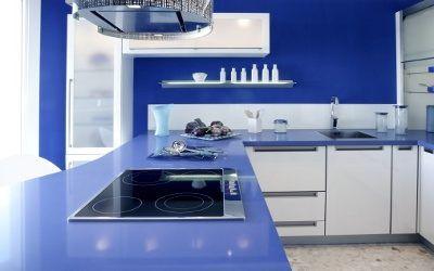 Vastu Tips : Avoid blue colour in the kitchen. #vastutips www.vastustore.com