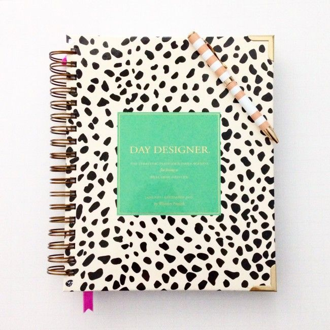 Getting Organized with The Day Designer by Whitney English