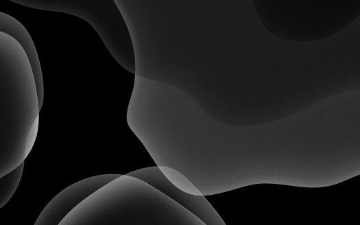 iOS 13 iPadOS Dark Mode Black Hintergrundbilder | HD-Hintergründe