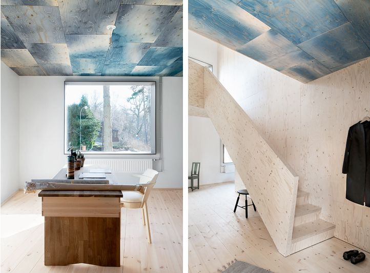 House Call: An Ode to Sea and Sky, Courtesy of Stained Plywood: Remodelista