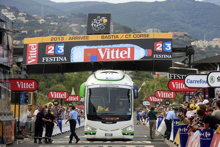 Autocar atrapado, 1ª etapa Tour ' 2013