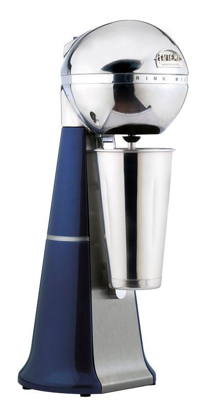 A-2001 Retro Blue Drink Mixer with inox cup. #blue