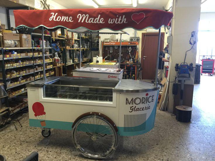 #icecreamcart #gelatocart #gelato #foodbusiness #foodmobile #tekneitalia