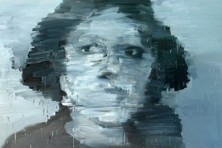 Pittura per il ritorno a casa/2002/olio su tela, cm 100x150