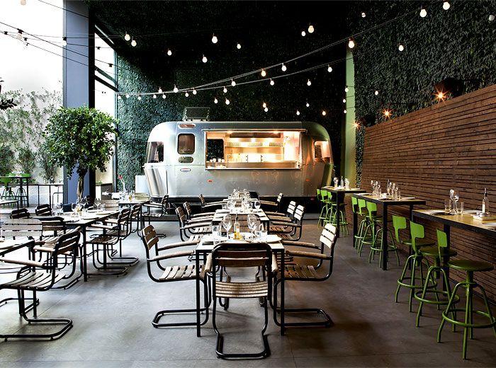 Trailer restaurante Urban Garden Atenas