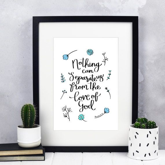 Nothing Can Separate Us Print  Romans 8:31-39 Print