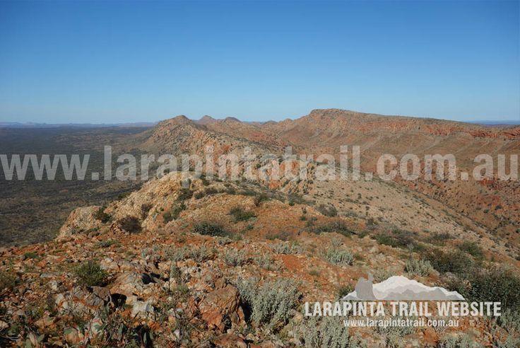 Mount Giles Lookout Campsite, Image Looking E. Section 9. © Explorers Australia Pty Ltd 2014