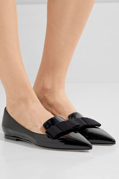 Slight heel Black patent-leather Slip on Made in Italy