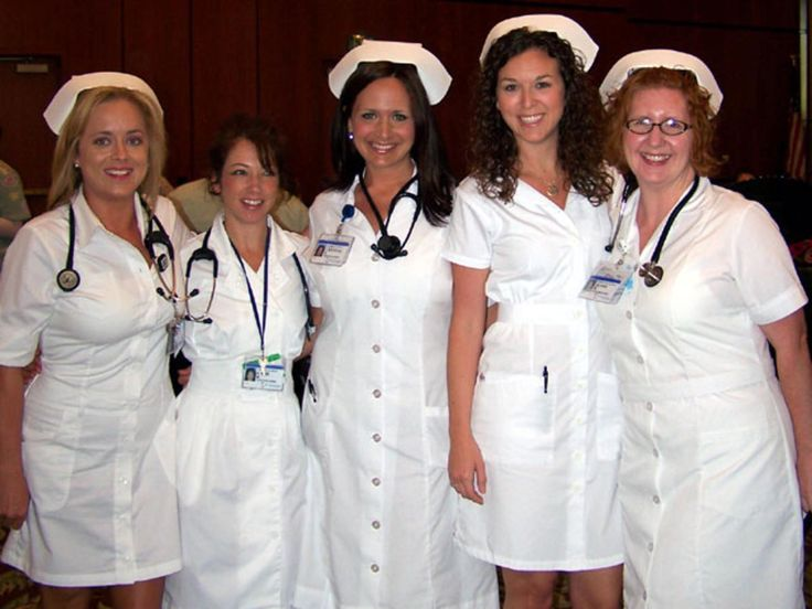 Retro nurse uniforms