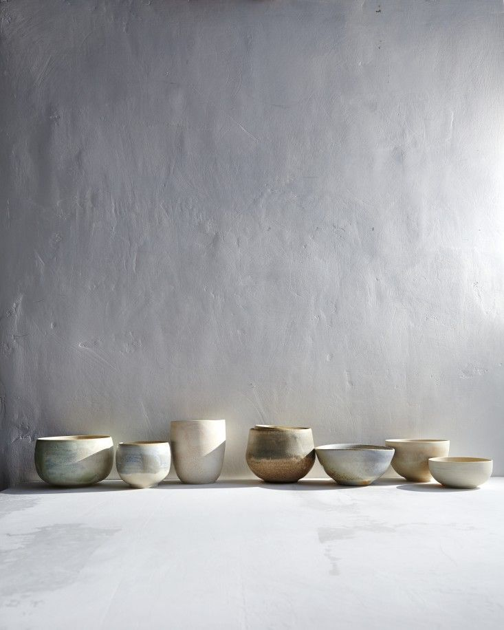 Jim Franco ceramics photographed by Gentl and Hyers for Dara Artisans | Remodelista